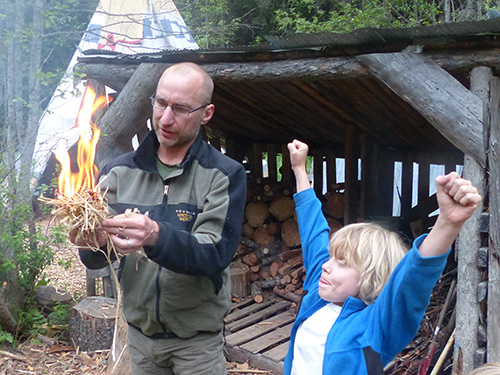 Father Son Wilderness Program