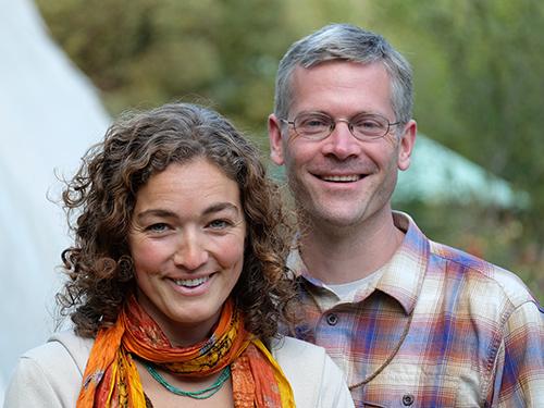 Jeannine Tidwell and Tim Corcoran