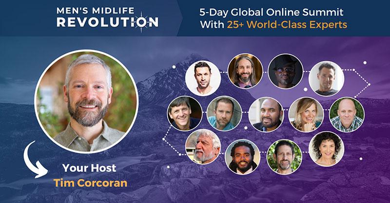 Men's Midlife Revolution Online Summit